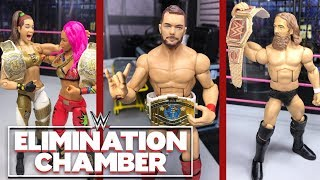 WWE ELIMINATION CHAMBER 2019 FULL SHOW REVIEW! WWE FIGURES!