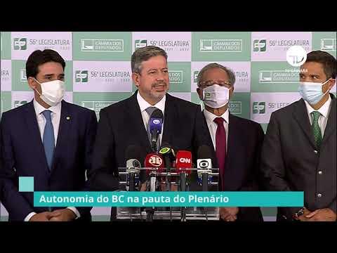 Autonomia do Banco Central na pauta do Plenário - 08/02/21