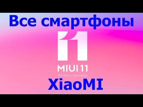 MIUI 11 для всех смартфонов Xiaomi Global China Russia 11.0.1.0