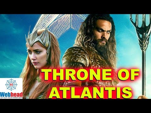 Will The Aquaman Movie Follow The Throne of Atlantis Storyline? THEORY | Webhead