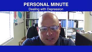 Personal Minute Dealing With Depression