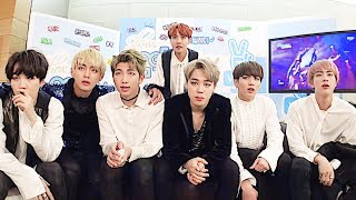 [ENG SUB] 161105 BTS (방탄소년단) Reacts To Blood, Sweat & Tears On Show! Music Core