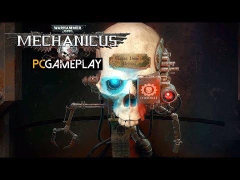 Warhammer 40,000: Mechanicus Gameplay (PC HD)