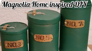Magnolia Home Inspired DIY Twine Holder/ Using Trash To Create Treasure