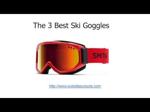 Best Ski and Snowboard Goggles