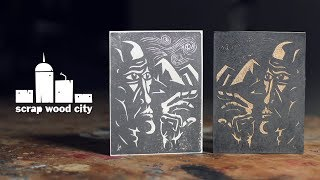 Introduction to wood block printing and carving