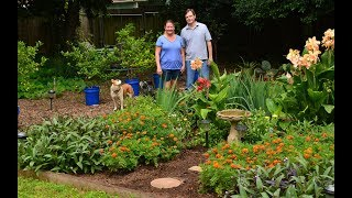 Turning Lawn into Backyard Food & Flowers | Central Texas Gardener