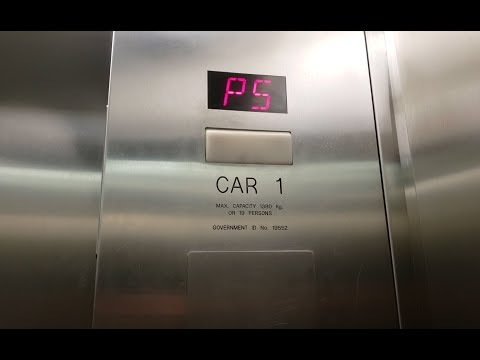 ThyssenKrupp Northern Traction Elevators at Central City Mall Parkade - Surrey BC