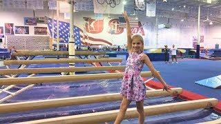 СЛЕЗЫ И РАЗОЧАРОВАНИЕ вторая целая тренировка по спортивной гимнастике в США другая школа