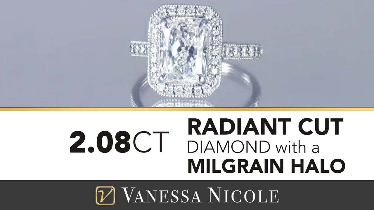 2.08ct Radiant Cut Diamond Ring