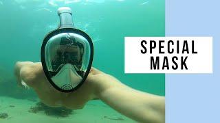 ebba97a99 Platinum Arowana Easy Breath Full Face Snorkel Mask Just Doesn t Click