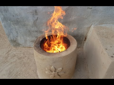How to Make Tandoor Oven | Primitive Technology Clay Tandoor Oven | Home Made Mud Tandoor Oven