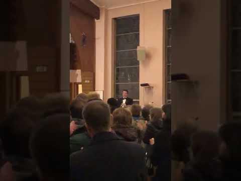 Hallelujah Chorus - William Paterson University Choir - Trumpet: Andrew Mayewski Jr - 12/6/19