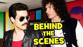 Behind The Scenes on BOHEMIAN RHAPSODY - Movie B-Roll & Bloopers