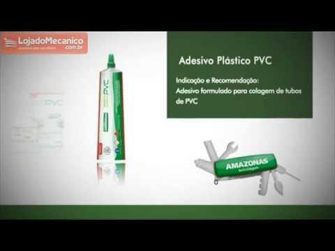 Bisnaga Cola para PVC 17g - Video