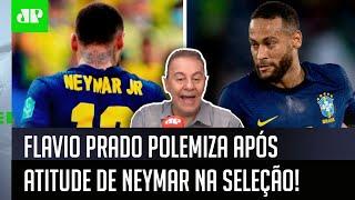 'Eu espero que o Neymar…'; Flavio Prado desabafa e polemiza sobre a Seleção Brasileira