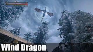 Skyrim Boss Showcase: Wind Dragon