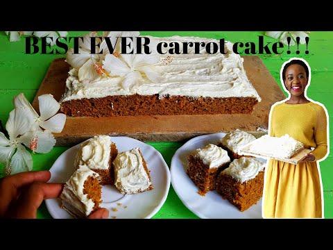 BEST EVER CARROT CAKE!!! | KALUHI'S KITCHEN
