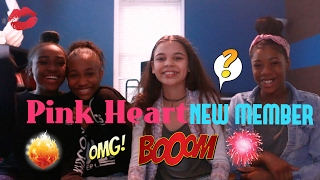 New Member in PINK HEART!