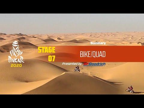 【ダカールラリーハイライト動画】ステージ7 バイク部門のハイライト