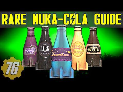 RARE Nuka-Cola (Quantum, Dark, Grape, Orange, Wild) Guide - Fallout 76