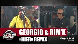 """[Exclu] Georgio """"Hier"""" ft Rim'K (Remix) #PlanèteRap"""