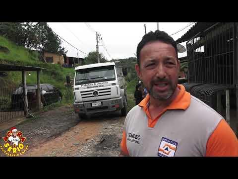 Defesa Civil atuante chega junto com as dificuldades dos Moradores do Distrito dos Barnabés e Alerta a Cidade de Juqutiba