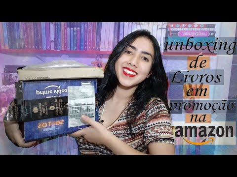 ?UNBOXING ? | ?Livros Baratos? | AMAZON | Leticia Ferfer | Livro Livro Meu
