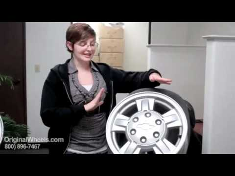 Trailblazer Rims & Trailblazer Wheels - Video of Chevrolet Factory, Original, OEM, stock used rim