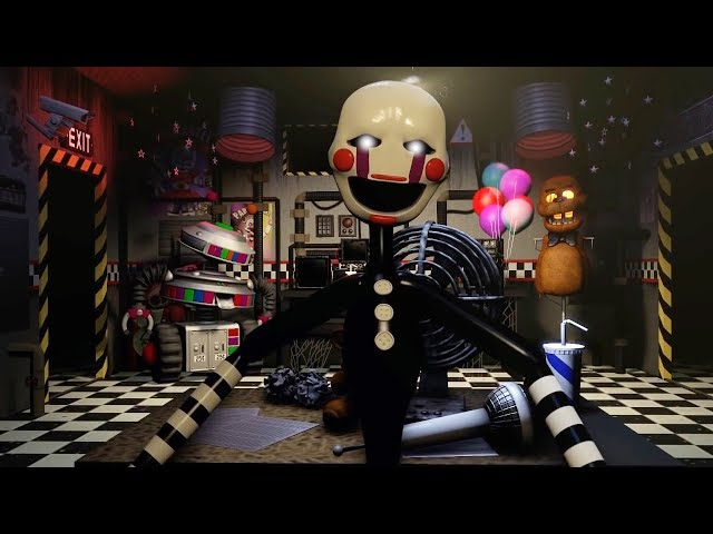 Video UCN Animated Jumpscares | 1-4 + Sister Location