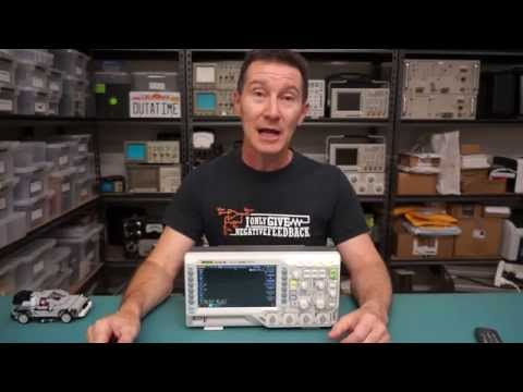 Video of EEVblog #703 - Rigol DS1054Z Oscilliscope Review Summary