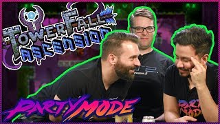 Nick Uses His Bow & Arrow Skills in Towerfall: Ascension - Party Mode