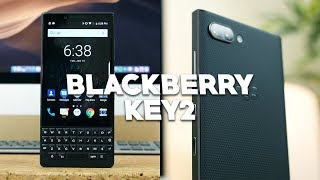 BlackBerry KEY2 Unboxing and First Look