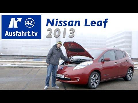 2013 Nissan Leaf Tekna - Fahrbericht der Probefahrt  / Test / Review / Elektroauto