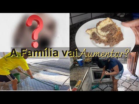 Famlia vai aumentar? | Vlog de Quinta | Rotina de Faxina | Bolo mesclado Famlia Kaki