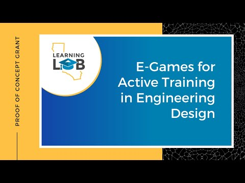 E Games for Active Training in Engineering Design - YouTube