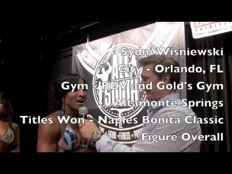 IFBB North Americans Championships | NPC Women's Physique 40