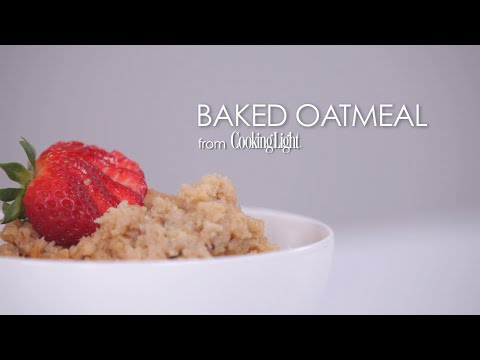 How to Make Delicious Baked Oatmeal