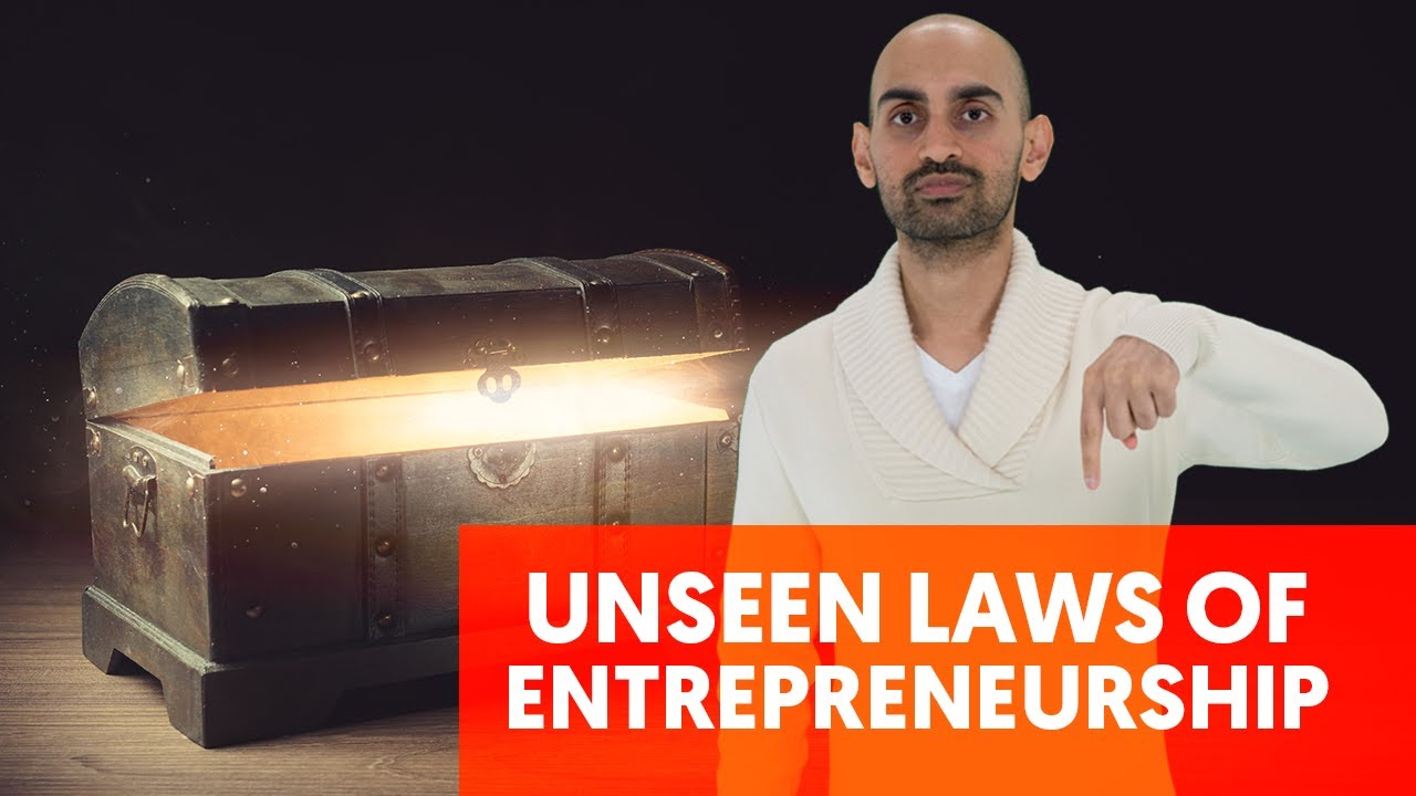 The Three Unseen Laws of Entrepreneurship