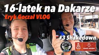 16-latek na Dakarze - Eryk Goczał Vlog | Dakar Rally 2021 odcinek 3