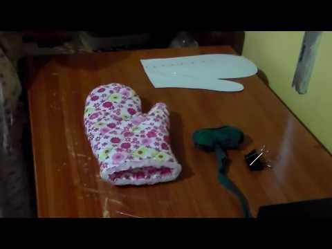 como hacer una manopla para agarrar ollas caliente