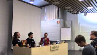 preview picture of video 'Ropecon 2014: Pohjola, Fredman, Crane: Games for Kids'
