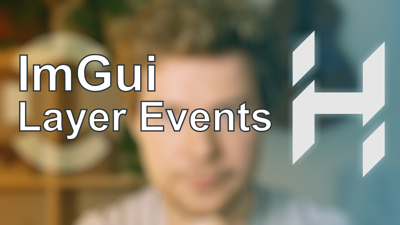 Code Review + ImGui Layer Events | Game Engine series