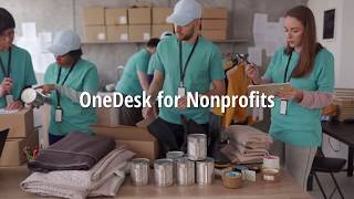 OneDesk for Nonprofits