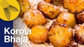 Korola Bhaja/Bora | Karela Bhaji | Bitter Gourd Fritters