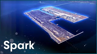 This Airport Has Its Own Island | Super Structures | Spark