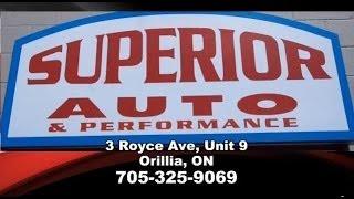 preview picture of video 'Orillia Auto Repair - Superior Auto & Performance - MTO Service Station Orillia'