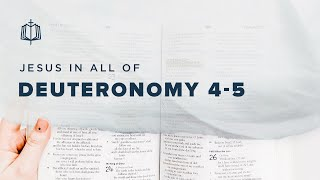 10 COMMANDMENTS REPEATED | Bible Study | Deuteronomy 4-5