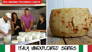 ITALY UNEXPLORED ABRUZZO - Italian Farming | How to Make Pecorino Cheese | Farm Life