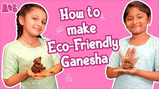 How To Make Eco-Friendly Ganesha | Aadya Sitara DIY Eco-Friendly Ganesha | #GaneshChaturthi2019